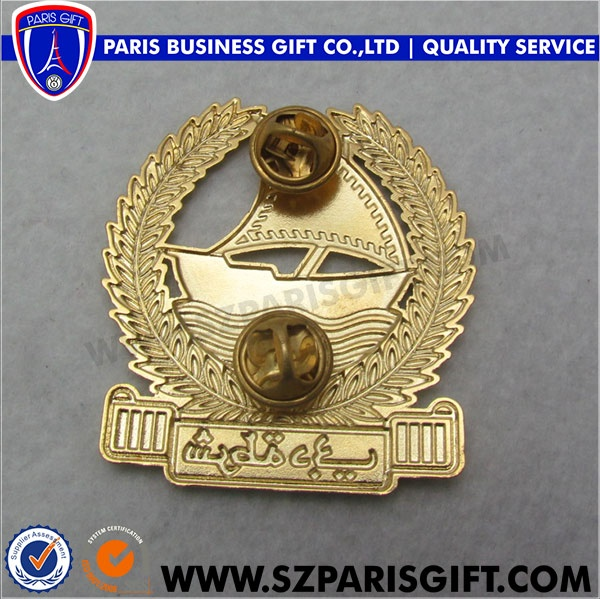 dubai pin lapel 3d badge for government - professional