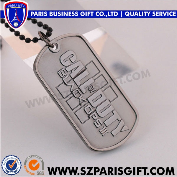 direct manufacturer produce wholesale custom logo metal dog tag for military