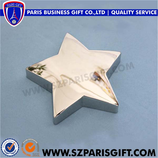 five-pointed star paper weight