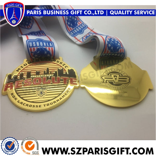 USA bespoke medal Make the most of your Gold medals resolute lacrosse medals award