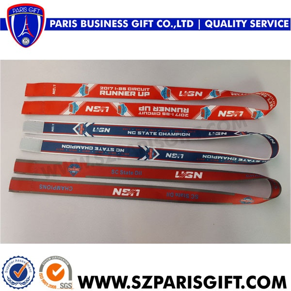 Custom ribbon with velcro - professional crafts manufacture medals