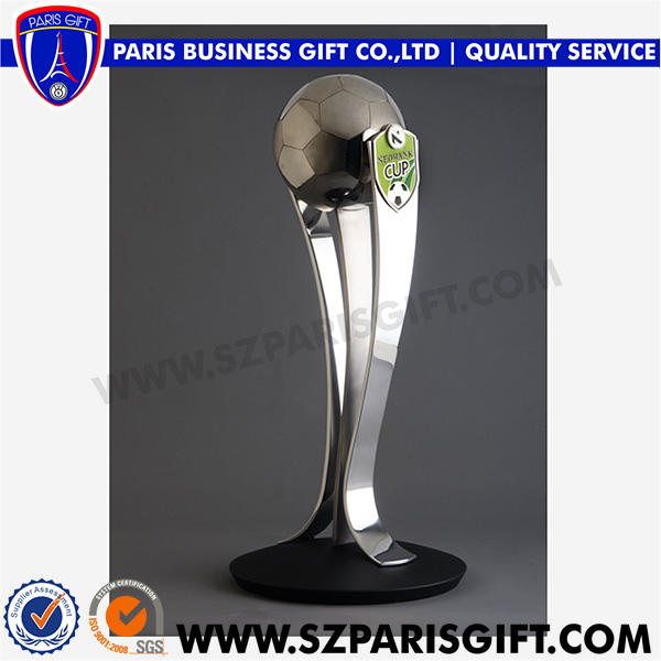 Football Silver Award Trophy Cup