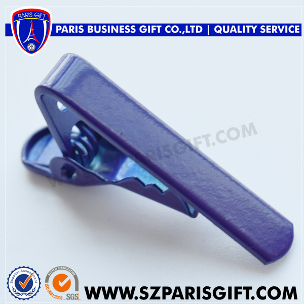 Navy Blue Fashion Tie Clip Small Mini 1 Inch Tie Pins