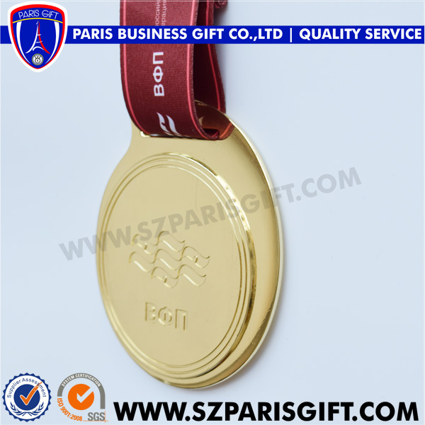 Russia Shiny swimming medal for souvenir