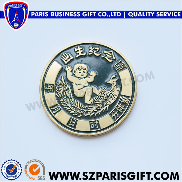 coin for anniversary of the birth