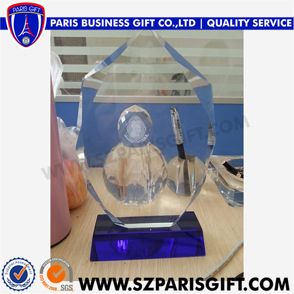 Popular New Design Crystal Trophy Award For Souvenir Gift