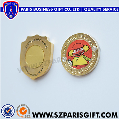 Oman zinc alloy fridge magnet lapel pins with magnet