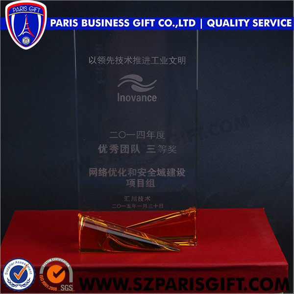 Best Selling Cheap Award Medals China Crystal Trophy